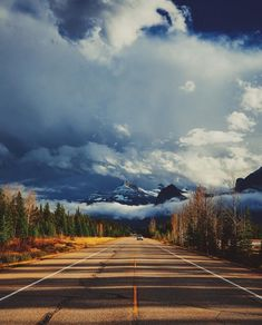 Banff National Park If you don't know where you are going, any road will take you there. Banff National Park, National Parks, Places Around The World, Around The Worlds, Become A Travel Agent, Holiday Resort, Exotic Places, World Of Color, Beautiful Landscapes