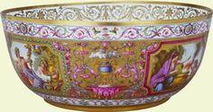 Punch bowl    1790    Sèvres