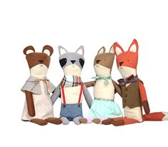 Looking for a family heirloom for your little one to snuggle forever and ever? Walnut Animal Society boasts the coziest creatures, all stuffed with love in the good old USA. To Buy: Chester the Raccoon ($168)