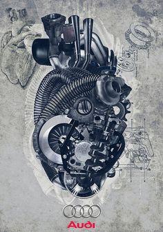 Machine heart by johnnykocher, via Flickr