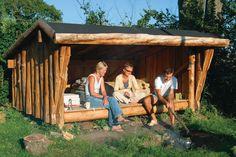 Car Shelter, Outdoor Cabana, Outdoor Shelters, Shelter Design, Garden Deco, Lean To, Garden Buildings, Go Outside, Backyard Patio
