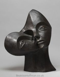 Beatrice Hoffman Nurturing (Abstract Mother and Child