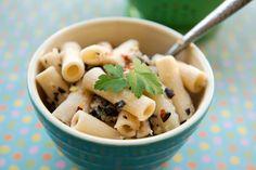 Cauliflower and Olive Pasta - Garlic My Soul