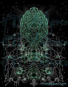 "Art numérique | IhtiAnderson.net - ""Visionery Art"" par Ihtianderson"