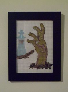 Zombie cross-stitch patterns