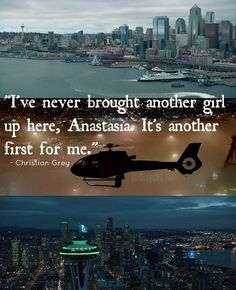 Second Trailer Seattle Skyline Stills & Christian Grey Quote - #FiftyShades #FiftyShadesofGrey #fsog