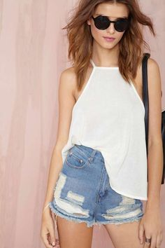 Tops | Shop Blouses, Crop Tops & Halter Tops | Nasty Gal