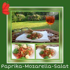 'Paprika-Mozzarella-Salat'