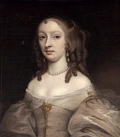 ca. 1670 Mary Bagot, later Countess of Dorset attributed to John Michael Wright