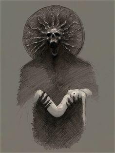 Artist: Lucian Stanculescu -  hypnothalamus #surreal #pencil #art