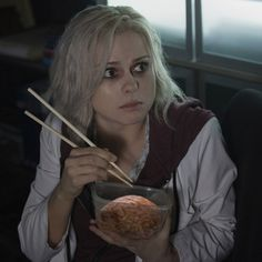 """""""#iZombie first look at Liv!"""""""