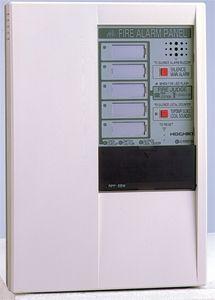 Trung tâm báo cháy 3-5 zone Hochiki - Không gian trong tủ rộng dễ dàng cho việc đi dây. - Các domino đấu dây được bố trí theo chiều dọc