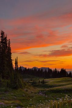 Mazama Sunset, Methow Valley, Washington