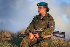 Deadly Beauties: Women of the Russian Airborne Assault Forces