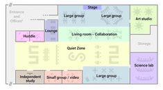 Re-imagining classroom spaces and schedules for personalized learning