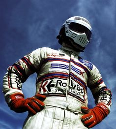 """""""I never considered myself a daddy's boy, I wanted to be able to have a life of my own, not simply the product of a certain family or a certain class. I thought I would be able to express myself within the sport.You can buy your way into Formula 1, but once your arse is in the metal monocoque, the only person who can help you is yourself."""" -Elio de Angelis"""