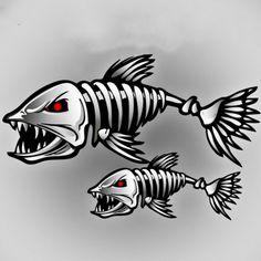 2 X Aliauto Car Accessories Car-styling Skeleton Shark Car Sticker and Decal Go Fish for Motorcycle Volkswagen Golf Bmw Ford – Car stickers Volkswagen Type 3, Volkswagen Golf, Sheet Metal Art, Homemade Fishing Lures, Fish Skeleton, Fish Drawings, Fish Shapes, Stencil Art, Stencils