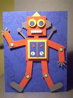 Punch Art Robot Man