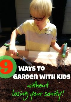 9 Ways to Garden With Kids (Without Losing Your Sanity)   eBay