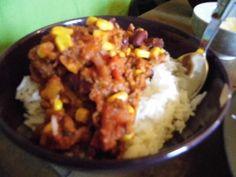 Chili vegan au haché végétal - Recette de cuisine Marmiton : une recette