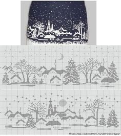 I would love to make this just for the challenge, but it borders on over the top christmas knits.
