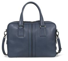 A new addition to the family of #Tod's #bags: the Double Stripe Collection for #men. #mensfashion