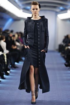 Chanel Spring 2012 Couture Fashion Show - Frida Gustavsson (IMG)