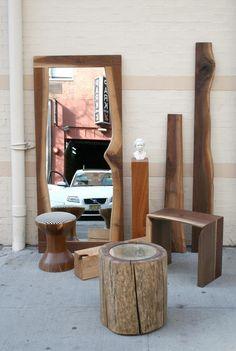 SHIMNA Sides: Side tables, Shelves, Stools, Pedestals