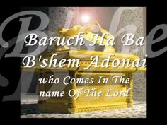Baruch Haba B`shem Adonai - Paul Wilbur.Video created by Celio Abatti.The purpose of this ministry is to reach souls for christ and bring forth the True Gospel of Jesus Christ.