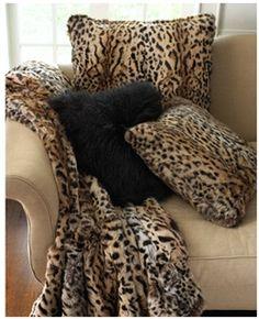 Leopard Throw - Adrienne Landau