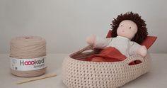 Jojo est à la mode avec son couffin en Trapilho ! Voilà, Jojo a son petit nid douillet pour dormir. C'est vraiment très facile à f...