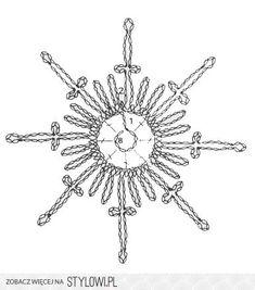 Crochet Snowflake Pattern, Christmas Crochet Patterns, Crochet Christmas Ornaments, Crochet Stars, Crochet Snowflakes, Christmas Snowflakes, Afghan Crochet Patterns, Thread Crochet, Crochet Diagram