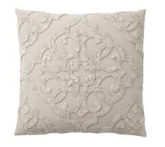 Drew Embroidered Pillow Cover