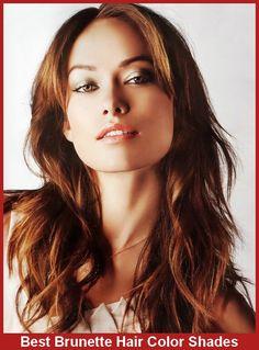 Best Brunette Hair Color Shades   #BrunetteHair #HairColor #Shades