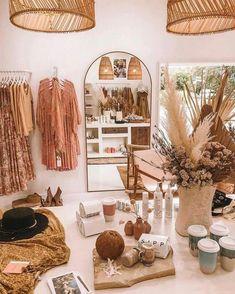 Bohemain Ideas for Interior Designing of Homes, business interior design, Boutique Design, Boutique Decor, Boho Boutique, Boutique Ideas, Boutique Stores, Vintage Boutique, Fashion Boutique, Clothing Boutique Interior, Deco Studio