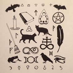 Wiccan Symbols - These Friday the 13th Tattoos Will Prove It's Not So Unlucky After All - Photos