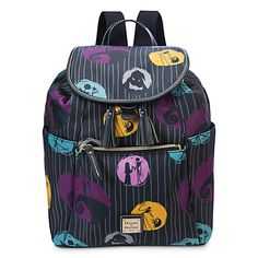 Backpack - Nightmare Before Christmas - Disney Collaboration Purses Bags Crossbody Stachel Disney Collab Purse Jack Skellington Dooney And Bourke Disney, Disney Dooney, Dooney Bourke, Nightmare Before Christmas Backpack, Nightmare Before Christmas Tattoo, Tim Burton, Divas, Jack The Pumpkin King, Cute Mini Backpacks
