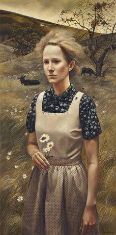 Andrea Kowch. Rural Sisters.