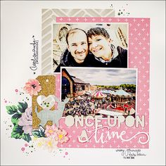 be more creative: Unce upon a time ... {Papierwerkstatt Augustkit ...}