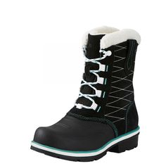 Ariat Women's Boots Whirlwind Cozy H2O Lace turquoise