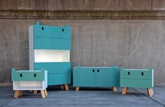 Monster Dressers // Kids' Furniture That Really Should Come In Adult Sizes