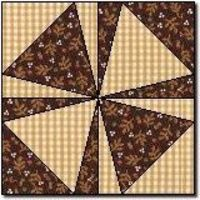 Shoemakers Puzzle (free quilt block pattern) Would be great in blue and white or red and white