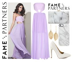 """""""Hello Homecoming with Fame & Partners: Contest Entry"""" by winterwhisper ❤ liked on Polyvore featuring Fame & Partners, Qupid, Charlotte Olympia, Uncommon and Lulu*s"""