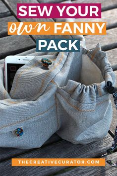 53cc4bd0838 Get this fanny pack sewing pattern today and