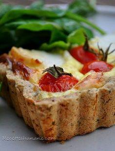 Pâte à tarte salée à la farine semi complète