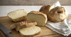 Ψωμί χωρίς γλουτένη από τον Δημήτρη Σκαρμούτσο - Kalosorisma Gluten Free, Bread, Food, Glutenfree, Brot, Essen, Sin Gluten, Baking, Eten