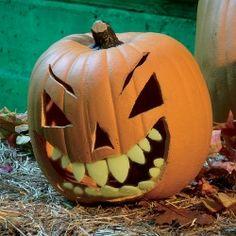glow in the dark shark teeth for pumpkins