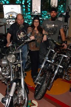 #Detroit #Motorcycle Builder Ron Finch, #RebelGirl Cher Bell and Joe Young #AmericanRebel