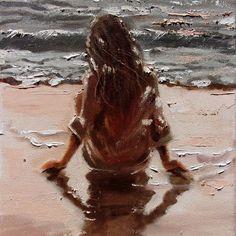 Monika Luniak - Paintings for Sale Paintings For Sale, Original Paintings, Oil Painting On Canvas, Art Oil, Lovers Art, Art Inspo, Art Drawings, Art Photography, Fine Art