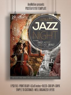 Ultimate Jazz Night Flyer - Events Flyers